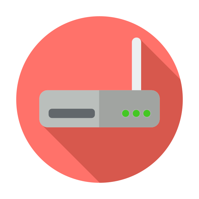WiFi Home Networking Icon